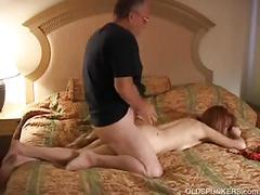 Slutty mature amateur fucks the cameraman