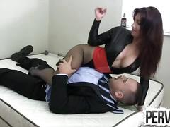 Penis pump femdom face sitting
