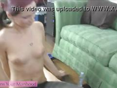Sweet little sister part 5 - cum on pantyhose blackmail