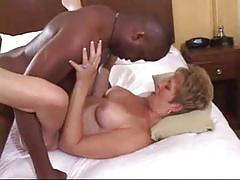 Mature wife pounded by her black lover