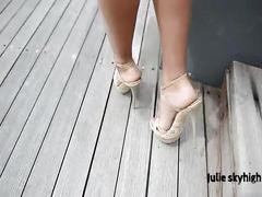 Maldives teasing gml sandals & floating skirt c4all.wmv