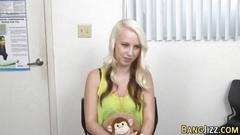 Teen fucked at casting