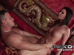 italian, anal, facial, babe, big cock, cumshot, masturbation, blowjob, kissing, pussy licking, brunette, pink'o hd