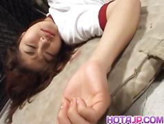 Haruki morikawa sucks dick while getting doggy