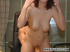 Busty amateur loves to fuck