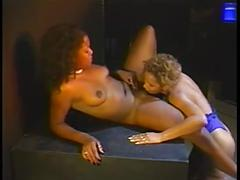 black and ebony, cunnilingus, lesbians, pornstars, striptease