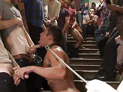 Bounded gay sucks dicks