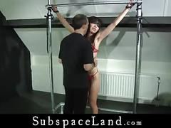 Japanese marika hase painful sub trained in the attick