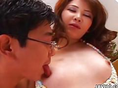 Hot asian brunette likes to fuck