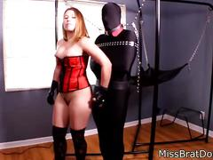Bp154-forced spandex slave masturbation