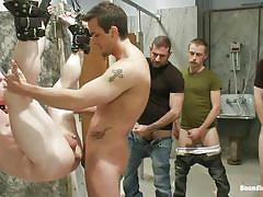 handjob, bondage, hanging, public, public toilet, gays, tied up, sex slave, gay group sex, bound in public, kink men, ethan hunter, phenix saint