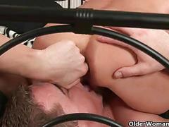 Milfs erica and merilyn take a facial