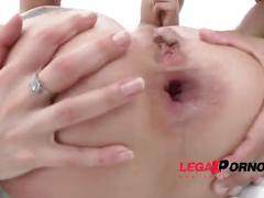 Chloe lacourt & amel annoga mini orgy with 3 guys: double anal (dap) & creampie sz858