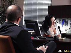 office, blowjob, busty, big dick, undressing, pussy eating, pov, brunette milf, at work, big tits at work, brazzers network, johnny sins, jayden jaymes