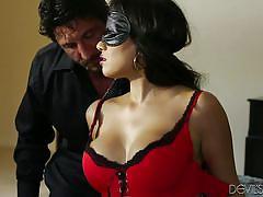 milf, bdsm, big ass, spanking, domination, blowjob, busty, blindfolded, brunette, devils film, fame digital, tommy gunn, mercedes carrera