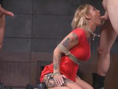 Bdsm kv deep throat facefuck