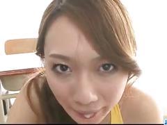 Rough pleasures for insolent porn model kazumi nanase