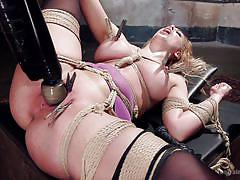 tattoo, blonde, bdsm, domination, pussy licking, busty milf, training, sex slave, sex toys, rope bondage, the training of o, kink, tommy pistol, cherie deville