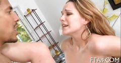 Bitch loves being nailed by big rods clip