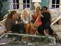 double penetration, lingerie, pornstars, threesomes, vintage