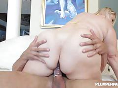 samantha 38g, hardcore, big tits, blonde, busty, reverse cowgirl, doggy style, fat, cowgirl, bbw, plumper, missionary