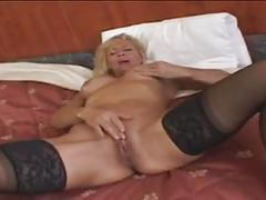 Victoria masturbating her nice and cute pussy