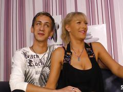 Sextapegermany - german couple in sex tape with amateur milf
