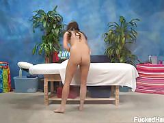 Brunette babe hope massaged and getting fucked
