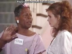 Alicia monet, angel kelly, barbara dare in vintage xxx scene