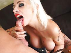 Gina snake is a naughty babe