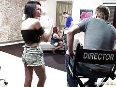 Naughty slut eager to taste dick