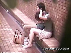 asian, outdoor, street, japanese, amateur, voyeur, hidden cam, spy cam, first time, reality, park