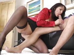 The boss faucks his secretary