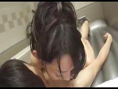 Beautiful japanese massage parlor lady
