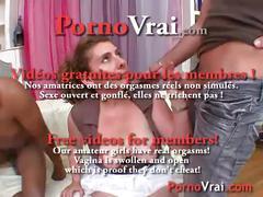 Une mere de famille se fait baiser et sodomiser par 3 mecs !! french amateur