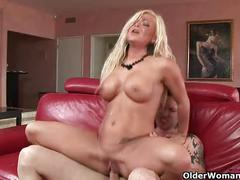 Blow your load in milf krista's mouth