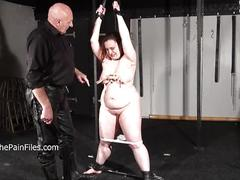 Crying fat slaveslut nimues extreme whipping and stern discipline of bbw sub in
