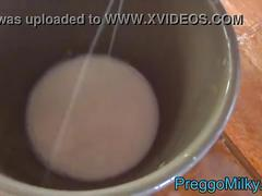 Breastmilk for breaskfast bowl