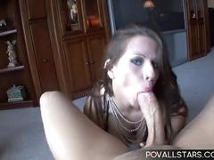 Pov blowjob with facial