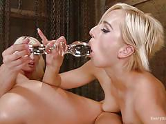 milf, blonde, big ass, lesbians, big tits, strap on, lesbian threesome, huge anal dilldo, everything butt, kink, riley jenner, phoenix marie, kate england