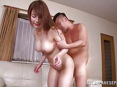 Lovely yuuka gets banged hard