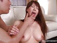 Lovely yuuka gets banged hard