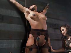 Helpless sasha gets orgasmic pleasures
