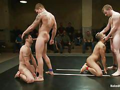 public, foursome, domination, gays, muscular, fighting, gay blowjob, gay wrestling, combat, gay rimjob, naked kombat, kink men, dj x, leo forte, sebastian keys, trent diesel