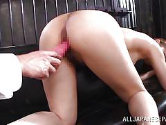 Attractive yuuka entertaining horny cocks