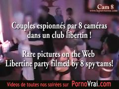 Spy cam french private party! camera espion part14 transparence