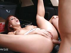 Redhead slut brooklyn lee gets assfucked