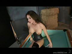 Jessica jaymes deepthroat in the billiard table