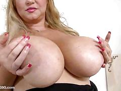 big tits, milf, busty, big nipples, masturbation, fat, solo, posing, mom, chubby, bbw, teasing, masturbating