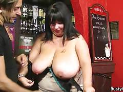 Bbw brunette sucks and rides a hard rod of meat